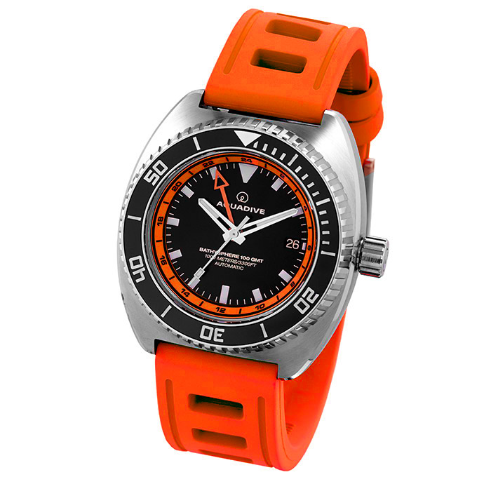 DIVE-WATCH-BATHYSCAPHE-100-GMT-ORANGE-ORANGE