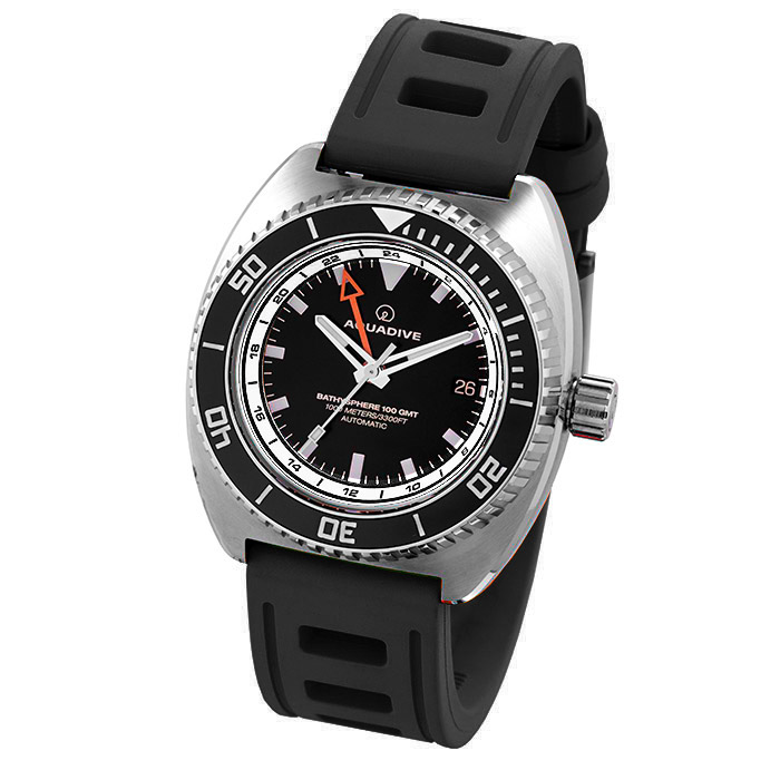 DIVE-WATCH-BATHYSCAPHE-100-GMT-WHITE-BLACK