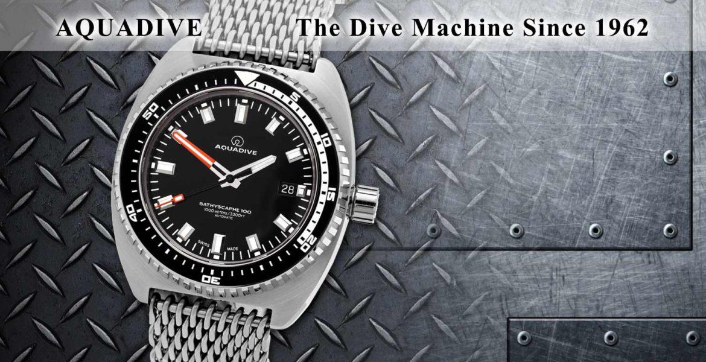 Aquadive Diver Watch