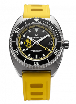 Poseidon Watch in Yellow